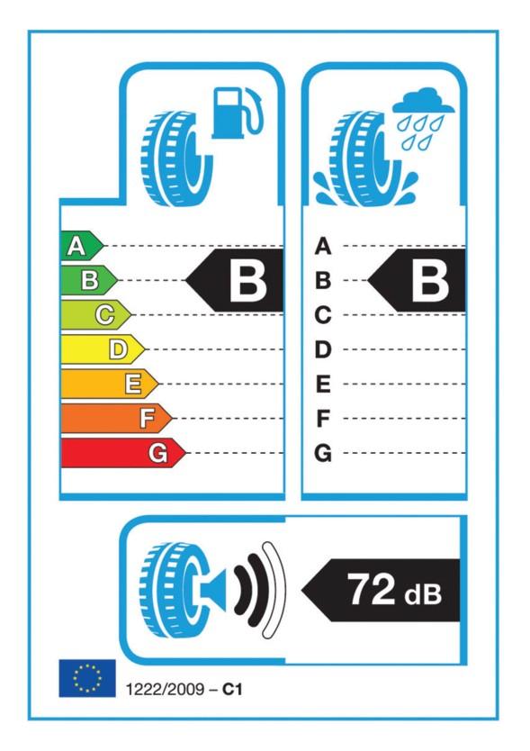 1222/2009-es EU rendelet szerinti címke