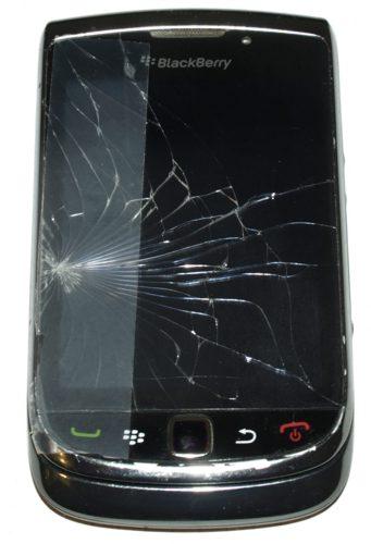 Blackberry 9800 torch betört érintőpanellel